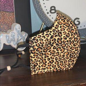 Cheetah Print Face Mask